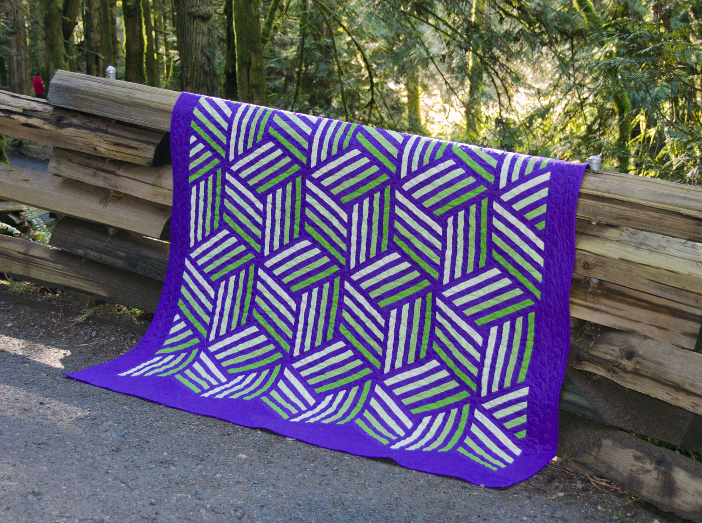 Amish Block Party (version 2) - pattern for sale in shop